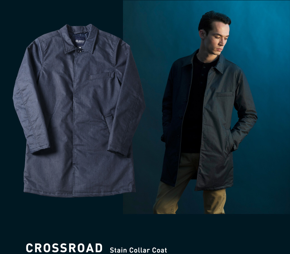 CROSSROAD Stain Collar Coat