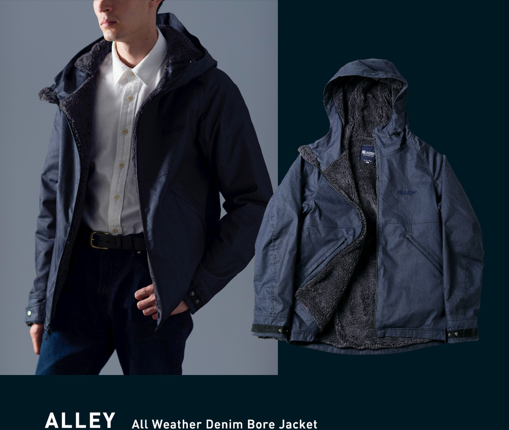 ALLEY All Weater Collar Coat